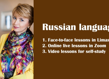 Russian intensive lessons – October 2020